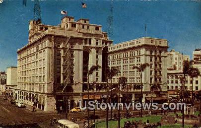 US Grant - San Diego, California CA Postcard