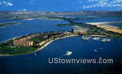 Bahia - San Diego, California CA Postcard