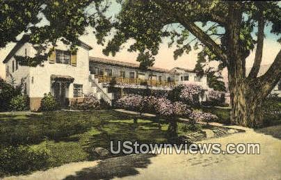 Pine Crest Lodge - Santa Barbara, California CA Postcard