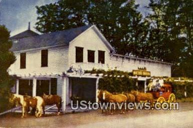 Mattei's Tavern - Santa Barbara, California CA Postcard