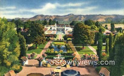 Samarhand Hotel - Santa Barbara, California CA Postcard
