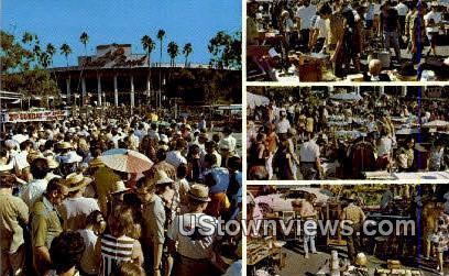 Rose Bowl - Pasadena, California CA Postcard