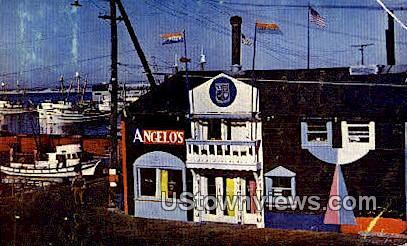 Angelo's - Monterey, California CA Postcard