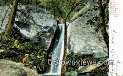 Mission Falls - Santa Barbara, California CA Postcard