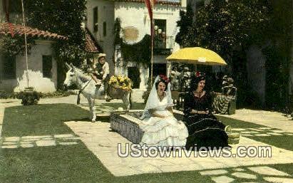 Santa Barbara - California CA Postcard