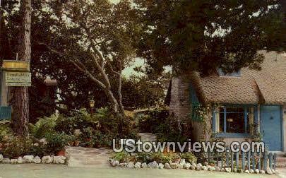 Famed Art - Carmel by the Sea, California CA Postcard