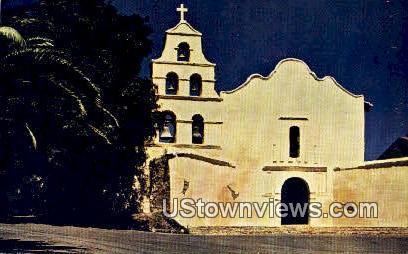 Mission San Diego - California CA Postcard