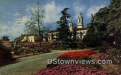 St. Anthony's Seminary - Santa Barbara, California CA Postcard