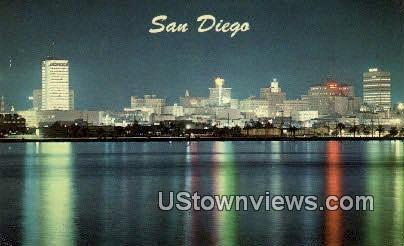 San Diego - California CA Postcard