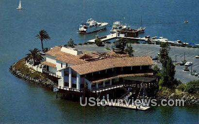 Tom Ham's Lighthouse - San Diego, California CA Postcard