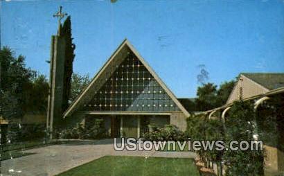First Presbyterian Church - El Monte, California CA Postcard