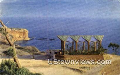 Wayfarers' Chapel - Los Angeles, California CA Postcard