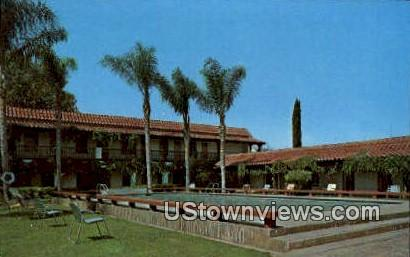 Motel Fresno - California CA Postcard