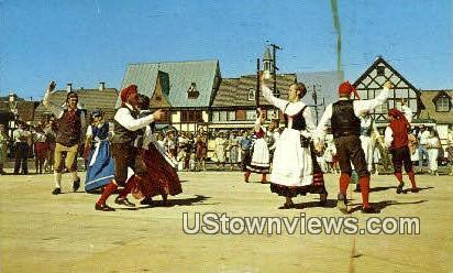 Solvang - California CA Postcard