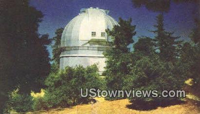 Carnegie Observatory - Mt. Wilson, California CA Postcard