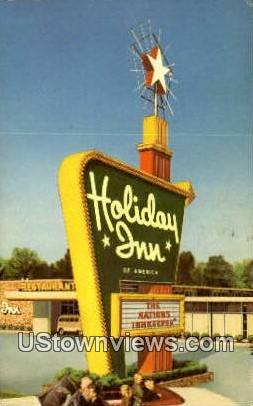 Holiday Inn - Bakersfield, California CA Postcard
