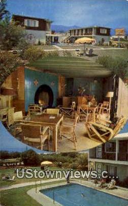 Ming Tree Motor Hotel - Santa Barbara, California CA Postcard
