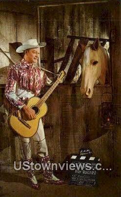 Roy Rogers - Buena Park, California CA Postcard