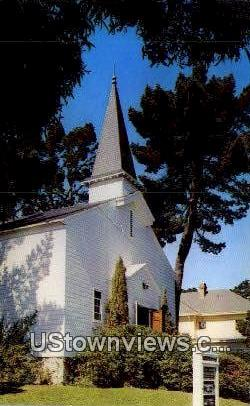 Chapel, Army Language School - Monterey, California CA Postcard