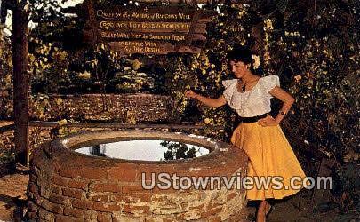 Ramona's Marriage Place - San Diego, California CA Postcard