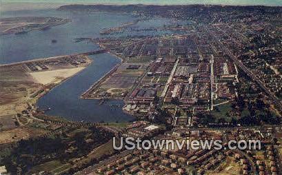 US Naval Training Station - San Diego, California CA Postcard