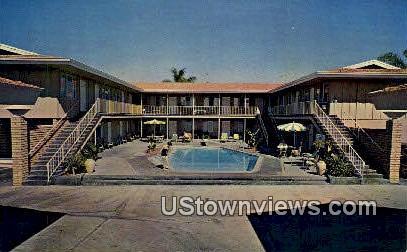 El Portal Motel - San Diego, California CA Postcard