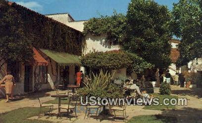 Famous El Paseo - Santa Barbara, California CA Postcard