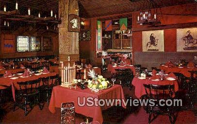 Tabard Inn - Los Angeles, California CA Postcard