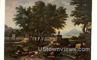 Landscape near Rome - Sacramento, California CA Postcard