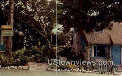 Lamplighters Lodging - Carmel by the Sea, California CA Postcard