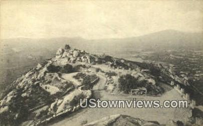 Summit, Mt. Rubidoux - Riverside, California CA Postcard