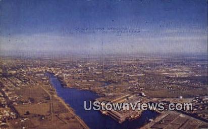 Stockton Port - California CA Postcard