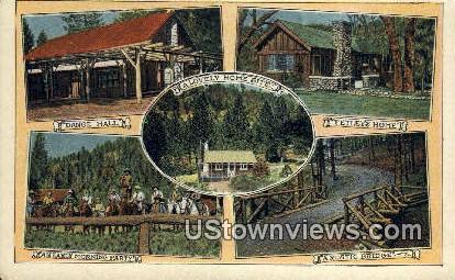 Valley of Enchantment Park - Riverside, California CA Postcard