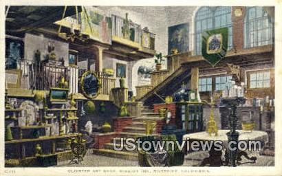 Cloister Art Shop, Mission Inn - Riverside, California CA Postcard