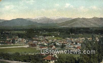 Riverside - California CA Postcard