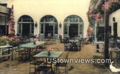 Tea Garden  - Santa Barbara, California CA Postcard