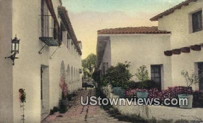 La Guerra Studios - Santa Barbara, California CA Postcard