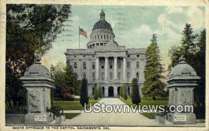 The Capitol - Sacramento, California CA Postcard