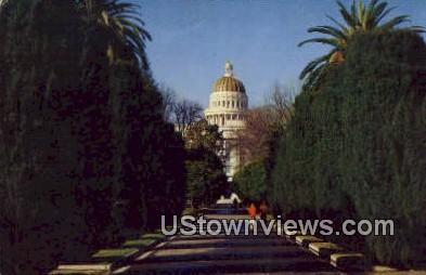 Capitol Park - Sacramento, California CA Postcard