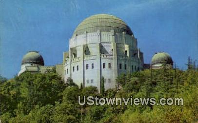 Planetarium Theatre - Los Angeles, California CA Postcard