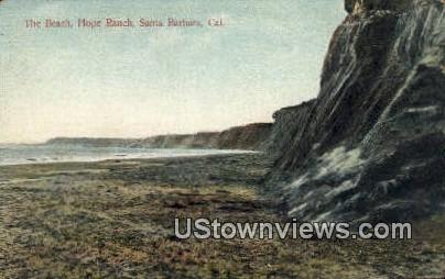 Hope Ranch - Santa Barbara, California CA Postcard