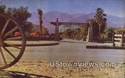 Furnace Creek Ranch - Death Valley, California CA Postcard