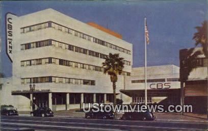 CBA Station - Los Angeles, California CA Postcard