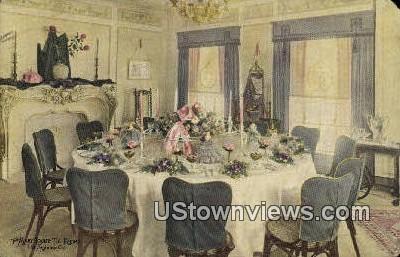 Mary Louise Tea Rooms - Los Angeles, California CA Postcard