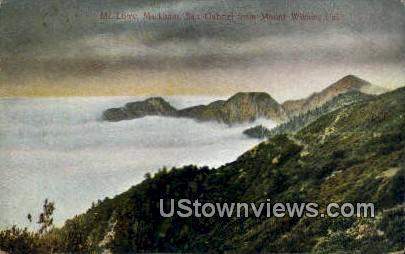 Markharm, San Gabriel - Mt. Wilson, California CA Postcard
