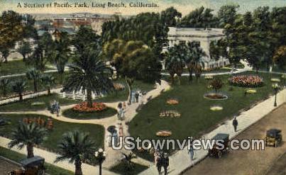 Pacific Park - Long Beach, California CA Postcard