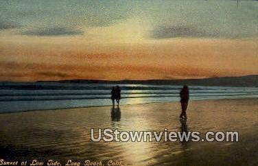 Long Beach - California CA Postcard