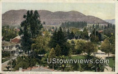 Rubidoux Mountain - Riverside, California CA Postcard