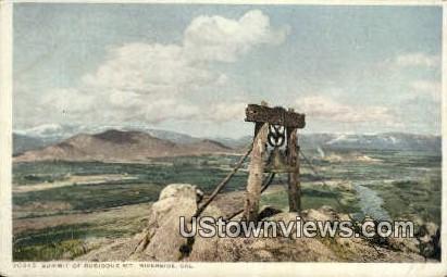 Mt. Rubidoux - Riverside, California CA Postcard
