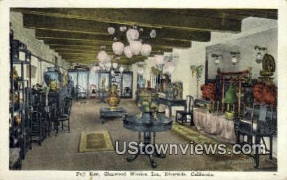 Fuji Kan, Glenwood Mission Inn - Riverside, California CA Postcard